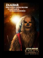 Zaalbar: Wookie in Exile by Entropist2009