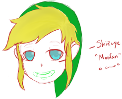 Doodle turned into Link? xD by Shizuye