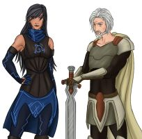 VB: Ashka and Rael by Sefti