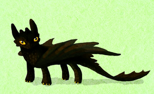 Toothless by Trinosaur