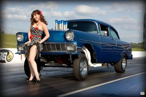 Pinups and Hotrods by SammieSoon