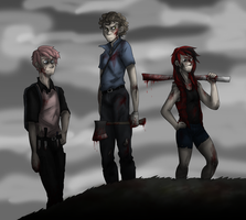 Eraser, Guitar, and Jerk at the End of the World by NEOmi-triX