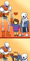 Undertale by kuzukago