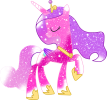 Galaxy Princess Cadence by DigiRadiance