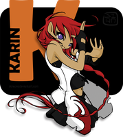 Karin of the flame by Quimerami