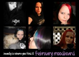 beauty is where you find it: february moodboard by MadameMimii