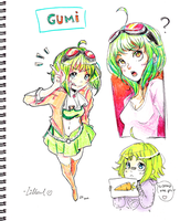 GUMI by Lillowl