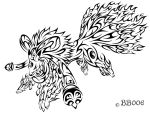 Tribal Kyubimon by blackbutterfly006