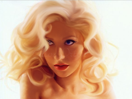 Christina Aguilera by crazynloveless