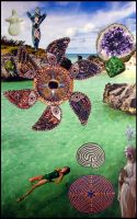 Inuitive Healing Guidance - collage by andromeda