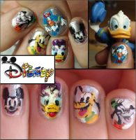disney nails by Ninails