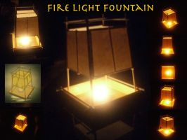 Fire Light Fountain by Dinodude73