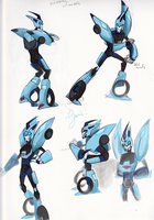 Blurr Study 1 by ManicDraconis