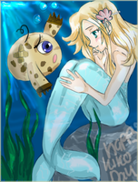 NEOPETS: Water Fairy and Kiko by Vypsy