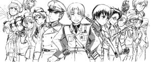 Axis Powers by partee6554