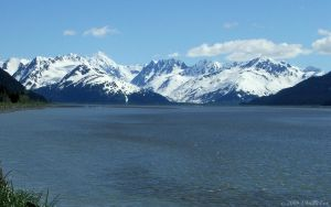 TURNAGAIN ARM IN JUNE by 1arcticfox