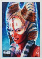 Shaak Ti -Spirit of Felucia by DavidDeb