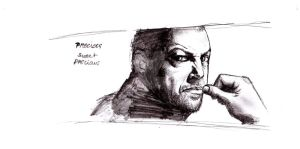 Andy Serkis by Ragnhildcharly