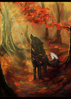 Falling Leaves - PC by Singarl
