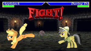 Pony Kombat Tournament Round 2, Battle 2 by Macgrubor