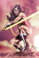 Wonder Woman Color by JBNeto