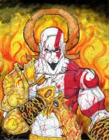God of War Kratos by ChrisOzFulton