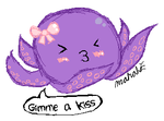 Octopus Kisses by chibimoozie