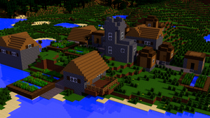 Minecraft Village by MinecraftPL