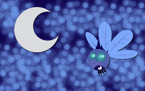 Luna Parasprite wallpaper by AliceHumanSacrifice0