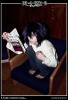 Death Note: L Lawliet by Redustrial-Ruin