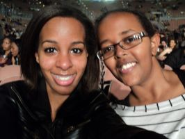 my sister and i went to see Kevin Hart! 10 by heaven101fosho