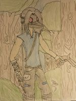 Nathan The Monster Hunter by ocean82802