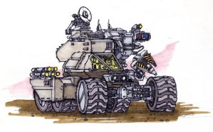 Planetary Rover by SpireKat
