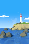 Lighthouse by Tharindu207