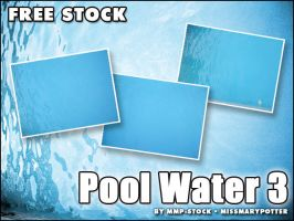 FREE STOCK, Pool Water 3 by mmp-stock