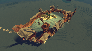 Island Odyssey - Minecraft ~ Big Build: The Atoll by HybridHavoc