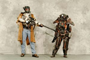 NCR Ranger and Outcast 8 by miss-mustang