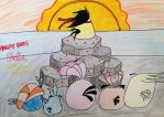 Angry Birds Stella: The Mysterious Foreigner by RussellMimeLover2009