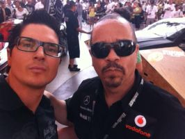 Zak With Ice T by 75tennis