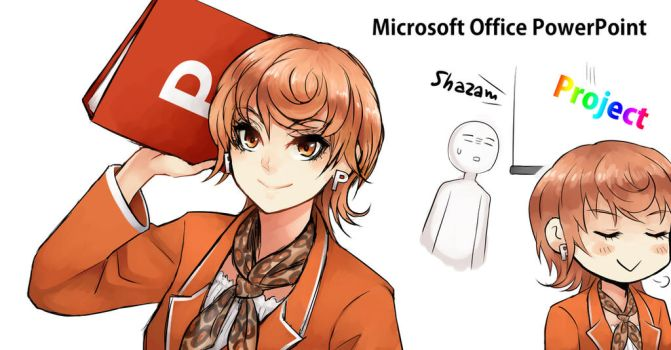 [Program Girl] Microsoft Office PowerPoint by Reef1600