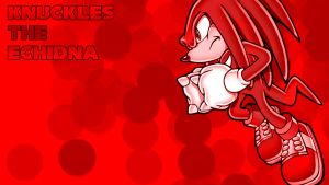Knuckles - Wallpaper by ShadowStyle97