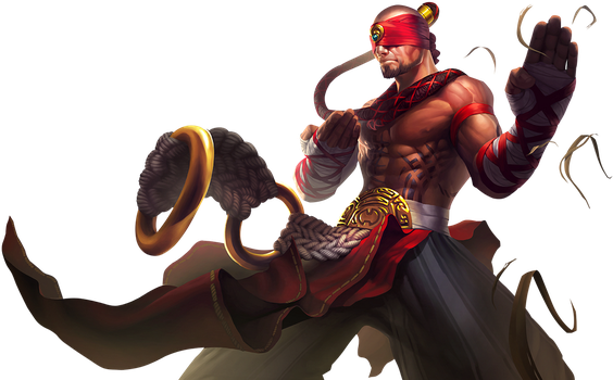 Lee Sin Render League of Legends by OutlawNinja
