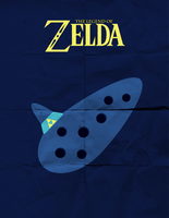 Ocarina of Time Minimalist by TheHarlequinHatter