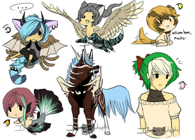 Mix Adopts.:Closed:. by itsmar-Adopts