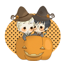 Chibi Drarry - My Candy by Cremebunny