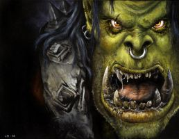 Orc by LinaLightning
