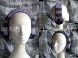 Neku Headphones, cosplay prop by mrkittycosplay
