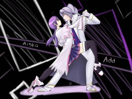 aisha and add ELSWORD by HEroeinFAME