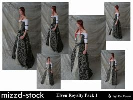 Elven Royalty Pack 1 by mizzd-stock