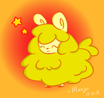 Fluffy Alpacky by MelodicMarzipan